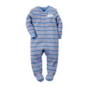 Carter's® Striped Sleep & Play - Baby Boys newborn-9m