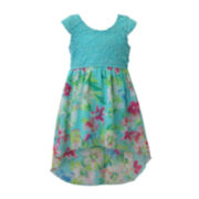 Lilt High-Low Floral Maxi Dress - Toddler Girls 2t-4t