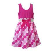 Lilt Polka Dot Dress - Toddler Girls 2t-4t