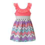 Lilt Chevron Dress - Toddler Girls 2t-4t