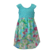 Lilt High-Low Floral Maxi Dress - Preschool Girls 4-6x