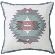 Victoria Classics Square Decorative Pillow
