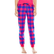 Flirtitude® Flannel Jogger Sleep Pants