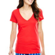 Flirtitude® Short-Sleeve Sleep Tee