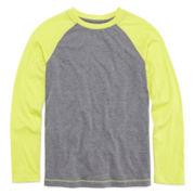 Arizona Long-Sleeve Raglan Tee - Boys 8-20 and Husky