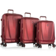 Heys® Vantage SmartLuggage 3-pc. Hardside Spinner Luggage Set