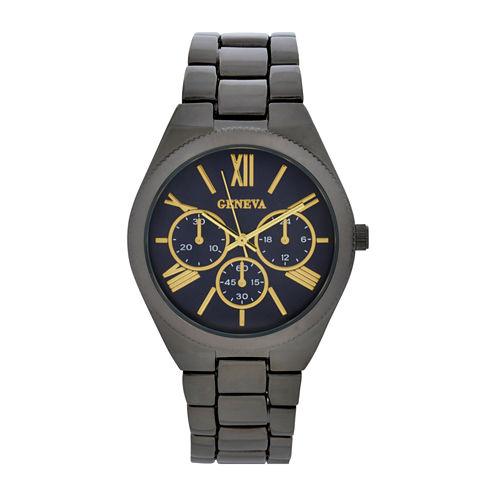 Geneva Womens Gray Bracelet Watch-Wac8552jc