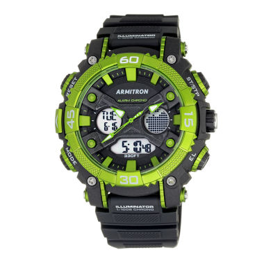 jcpenney.com | Armitron® Mens Green Analog and Digital Watch