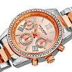 Akribos XXIV Womens Silver Tone Bracelet Watch-A-872ttrg