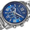 Akribos XXIV Womens Silver Tone Bracelet Watch-A-908bu