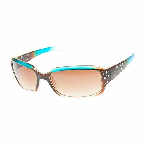 Bisou Bisou Rectangular UV Protection Sunglasses-Womens