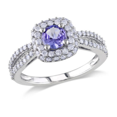 jcpenney.com | 1/2 CT. T.W. Purple Tanzanite 14K Gold Engagement Ring