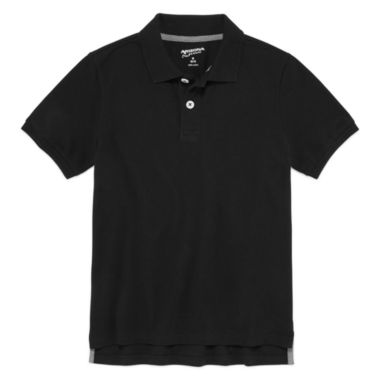 jcpenney.com | Arizona Short Sleeve Solid Jersey Polo Shirt - Big Kid Boys