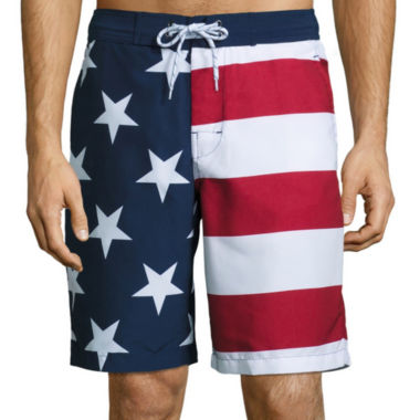 jcpenney.com | St. John's Bay® Print Swim Trunks