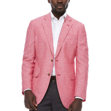 jcpenney.com | Stafford Linen Cotton Red Sport Coat- Classic Fit
