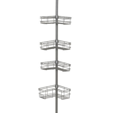 jcpenney.com | Zenna Home Tension Corner Shower Caddy