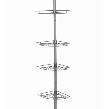 jcpenney.com | Zenna Home Tension  Corner Pole Shower Caddy