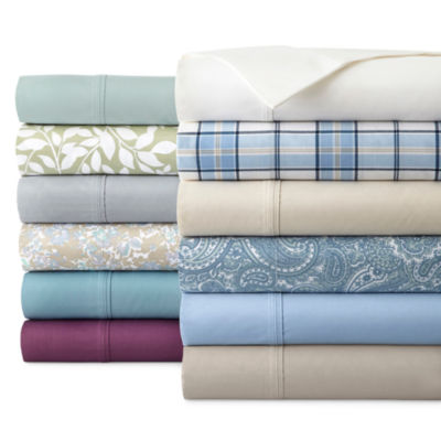 Ordinaire JCPenney Home™ 300tc Easy Care Solid Sheet Sets