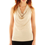 Worthington® Essential Cowl-Neck Top