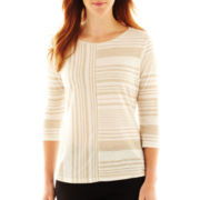 Worthington® 3/4-Sleeve Sleeve Top