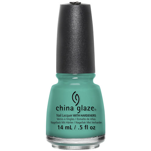 China Glaze® Turned Up Turquoise Nail Polish - .5 oz.