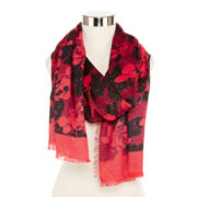 Floral Shine Scarf