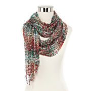 Space-Dyed Confetti Scarf