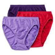 Jockey® Comfies® 3-pk. High-Cut Panties - 3326