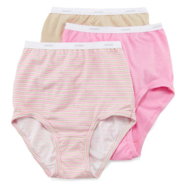 jcpenney.com | Jockey® Classic 3Pk Fit Brief Panties - 9482