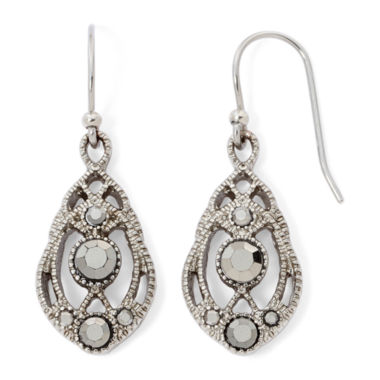 jcpenney.com | Liz Claiborne® Marcasite Earrings
