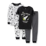 Carter's® 4-pc. Space Racer Pajama Set - Boys 6m-24m