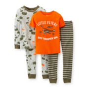 Carter's® 4-pc. Airplane Pajama Set – Boys 6m-24m