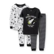 Carter's® 4-pc. Space Racer Pajama Set - Boys 2t-5t
