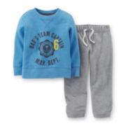 Carter's® 2-pc. Long-Sleeve Tee and Pants Set – Boys newborn-24m