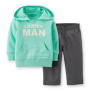 Carter's® 2-pc. Hoodie and Pants Set - Boys 2t-4t