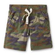 Carter's® Poplin Camo Shorts - Boys 2t-5t