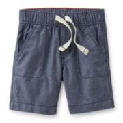 Carter's® Chambray Poplin Shorts – Boys 2t-5t