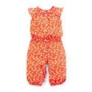 Carter's® Flutter-Sleeve Jumpsuit – Girls newborn-24m