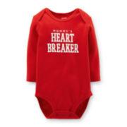 Carter's® Long-Sleeve Valentine's Bodysuit – Boys newborn-24m