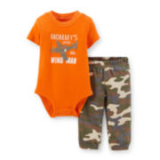 Carter's® Short-Sleeve Bodysuit and Camo Pants Set – Boys newborn-24m