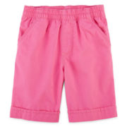Okie Dokie® Dot Bermudas - Girls 4-6x