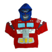 Transformers Long-Sleeve Knit Costume Hoodie – Boys 4-7