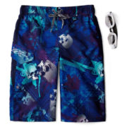 Zero Xposur® Notorious Swim Trunks – Boys S-XL