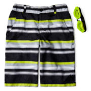 Zero Xposur® Grommet Swim Trunks – Boys S-XL