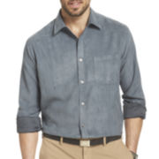 Van Heusen® Long-Sleeve Faux Suede Shirt