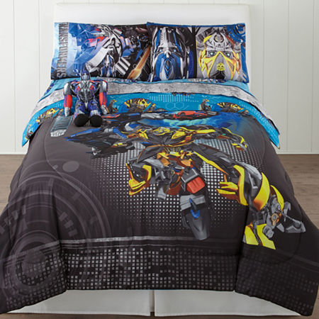 Hasbro Transformers Alien Machines Twin/Full Reversible Comforter