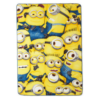 jcpenney.com | Despicable Me Minions Blanket