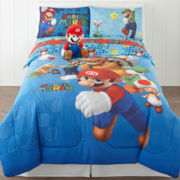 Super Mario Fresh Look Twin/Full Comforter