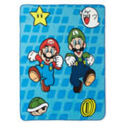 Super Mario Fresh Look Throw