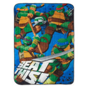 Teenage Mutant Ninja Turtles Heroes Blanket